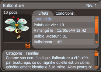 Up Bulbouture 1000 pods !