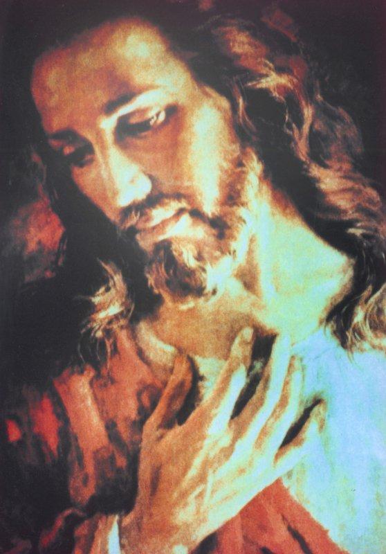 """JESUS NOTRE MAITRE :EXTRAIT DU MESSAGE DONNE PAR JESUS A MAMAN CARMELA, UNE DE SES MESSAGERES SUR TERRE, LE 24 FEVRIER 1977, POUR L'HUMANITE TOUTE ENTIERE : """"QUI ME VOIT, VOIT LE PERE"""""""