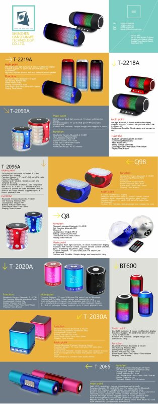 Bluetooth speaker market research for 2004-2016