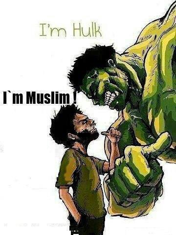 Muslim and proud.