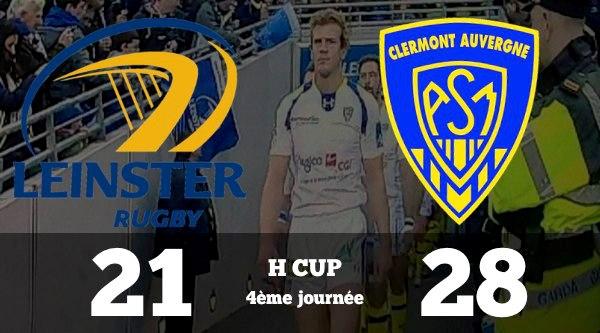 H'Cup : Clermont 'la balade Irlandaise' LEINSTER - ASM 21 à 28 Intouchables !!!