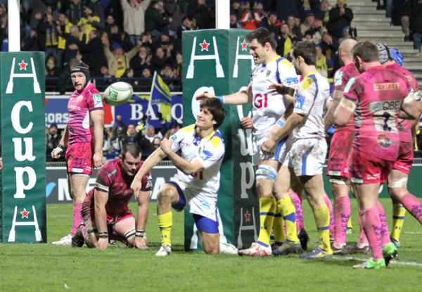 Clermont 46 – Exeter 3 Les « jaune et bleu » valident leur quart !