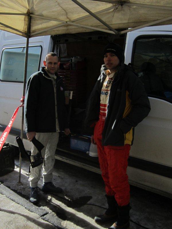 Journée Ronde du Jura 'spectateurs - assistance et résultats' pour Cédric et Sylvain