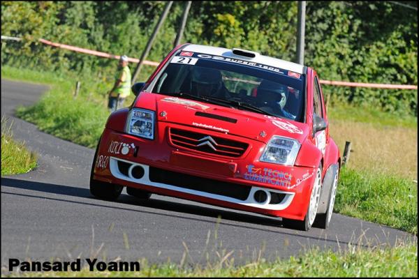 Liste numérotée des engagés du Rallye de Vaison la Romaine