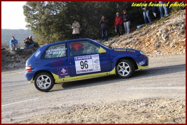 les malchanceux du rallye de Vaison la Romaine