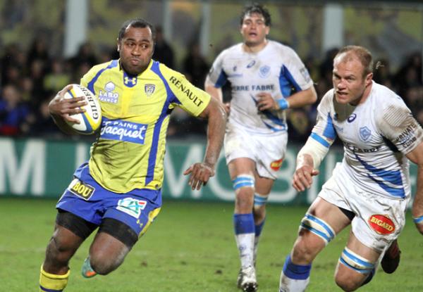 La nouvelle démonstration de Clermont qui gagne 37 à 10 contre Castres