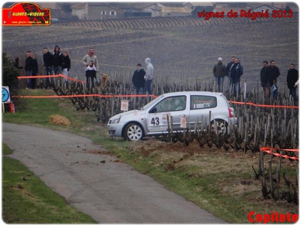 Les malchanceux au rallye des Vignes de Regnié