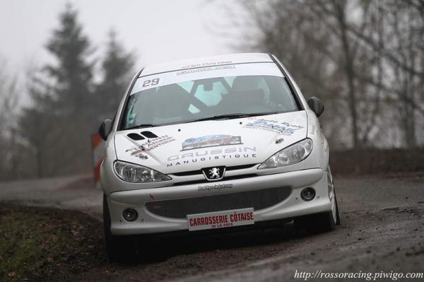 Les malchanceux du rallye de Franche-Comté