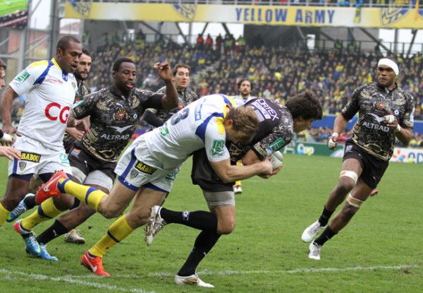 Toulon - Clermont 13 avril