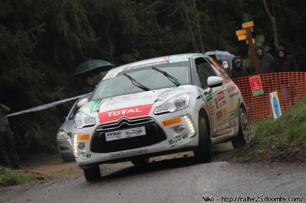 Résultats du rallye Lyon - Charbonnières