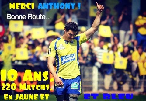 Dernier match au stade Marcel Michelin pour Anthony Floch