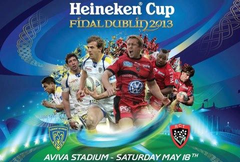 Finale de H'Cup à Dublin : Clermont / Toulon 18 mai 2013