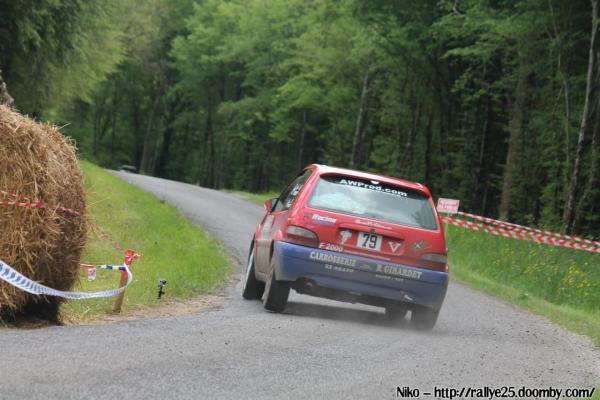 résultats du rallye du Val d'Orain