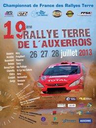 Liste des engagés du rallye Terre d'Auxerre 27/28 juillet