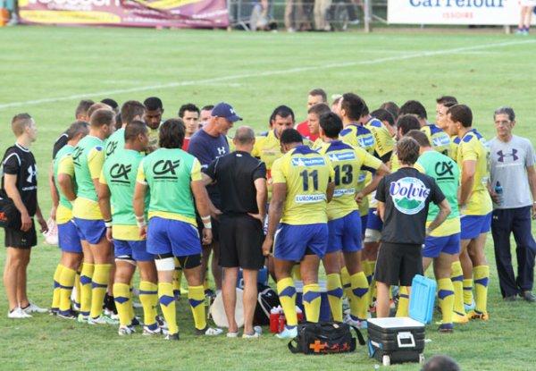 3ème match amical à Issoire le 09 août ASM - WASPS 36 à 27