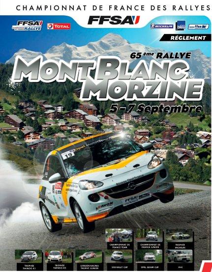 Liste des engagés du rallye du Mont-Blanc du 05 au 07 septembre