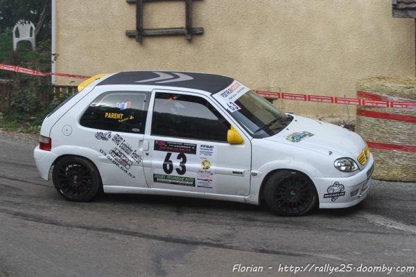 Résultats rallye du Pays de Montbéliard