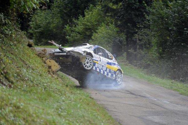 les malchanceux de la 1ère journée de la finale des rallyes 2013