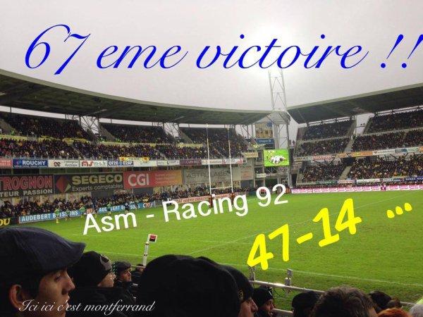 Clermont donne une leçon au Racing 47 à 14