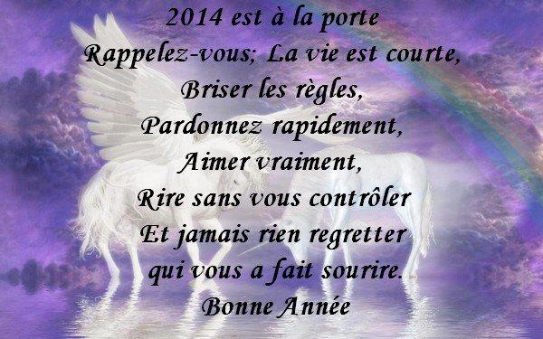 Meilleurs voeux à toutes et tous pour 2014 !!!