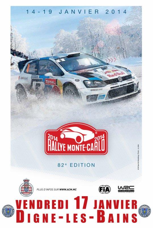 Liste des engagés du rallye de Monté-Carlo du 15 au 18 janvier 2014