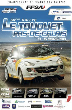 14 et 15 mars 2014 – Touquet (Championnat de France des Rallyes)