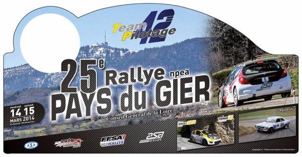 Rallye du Pays du Gier 14/15 mars 2014