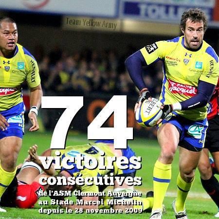 Et à la fin, c'est Clermont qui sourit...Clermont 22 - Toulon 16