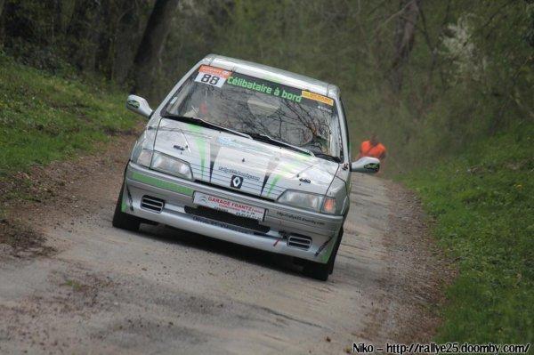 résultats du rallye de la Rivière Drugeon