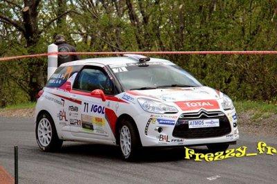 résultats du rallye Lyon Charbonnières
