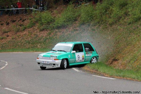 résultats du rallye de Franche Comté