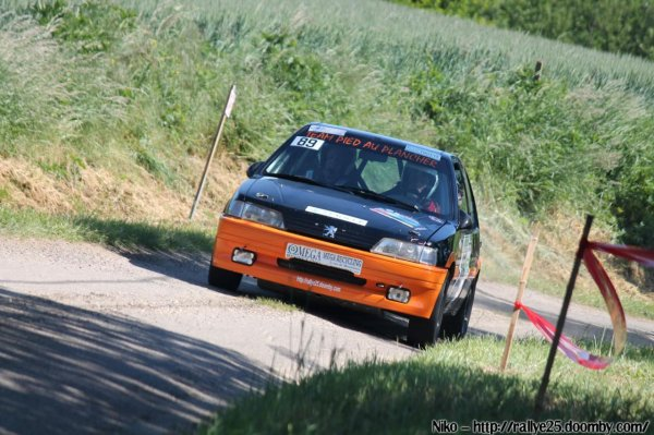 les malchanceux du rallye du Val d'Orain