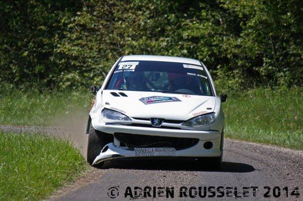 Les 1ers de classe au rallye du Val d'Orain