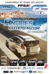 30 et 31 mai 2014 – rallye d'Antibes (Championnat de France)