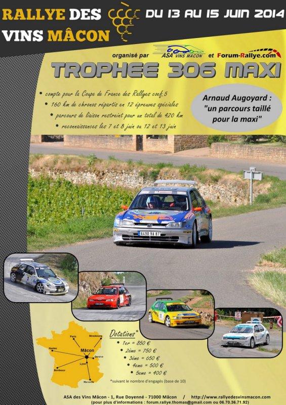 Rallye des Vins Mâcon 2014