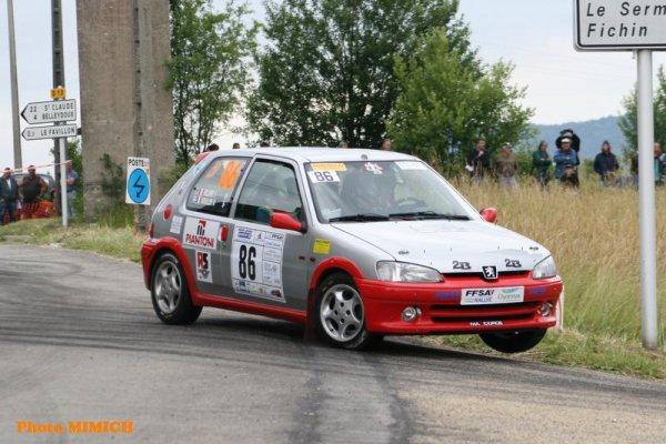 résultats rallye Ain-Jura