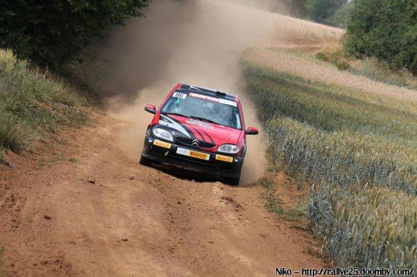 résultats du rallye Terre de Langres