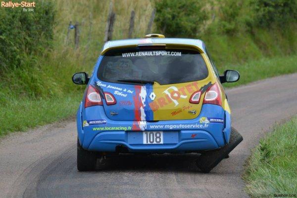 résultats rallye de Bourgogne - Côte Chalonnaise