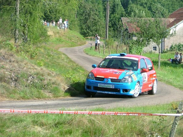 résultats du rallye des Vosges Saônnoises