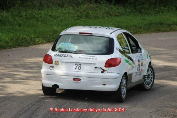 Série photos rallye du Sel de Sébastien et Anthony