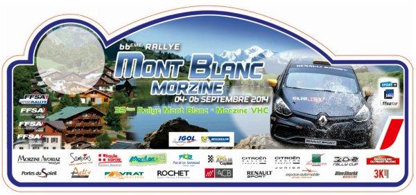 Liste des engagés du rallye du Mont-Blanc 04/06 septembre