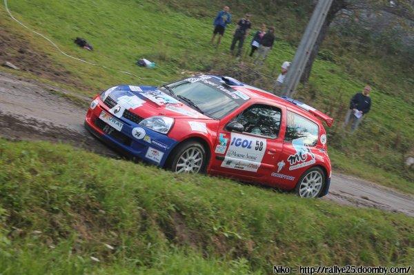 la classe A6 K en photos au rallye du Mont-Blanc