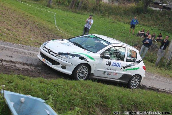 photos rallye du Mont-Blanc pour Sébastien et Anthony