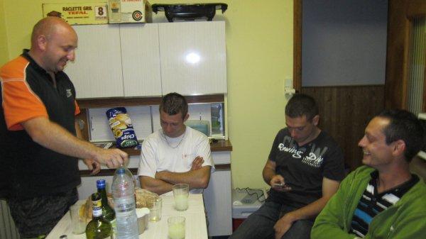 photos de toute l'équipe au rallye du Mont Blanc