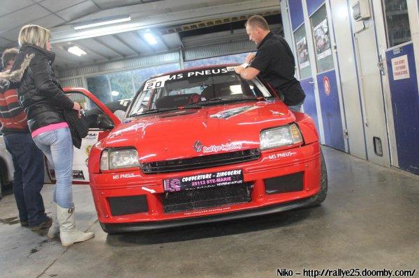 Les malchanceux du rallye du Pays de Montbéliard
