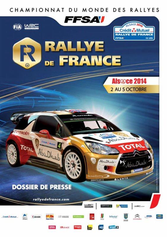 2 au 5 Octobre 2014 – rallye de France (WRC)