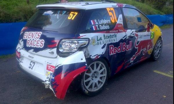 les malchanceux du rallye de France