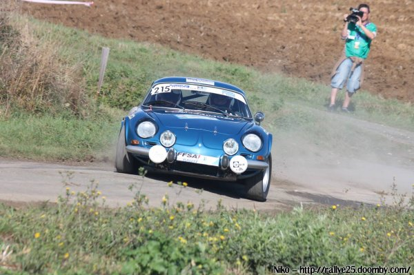 classement final des V.H.C à la finale des rallyes à La Rochelle