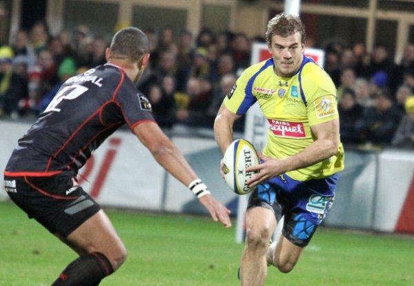 Clermont nouveau leader après son succès contre Toulouse (24-6)