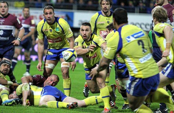 Clermont a été contrarié une heure... avant de lâcher les chevaux (31-23) contre Bordeaux